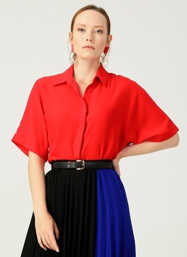 Beymen Studio Gömlek Kırmızı